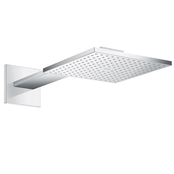 AXOR ShowerSolutions 250/250 1jet nástenná hlavová sprcha s hranatým ramenom 450 mm chróm 35306000