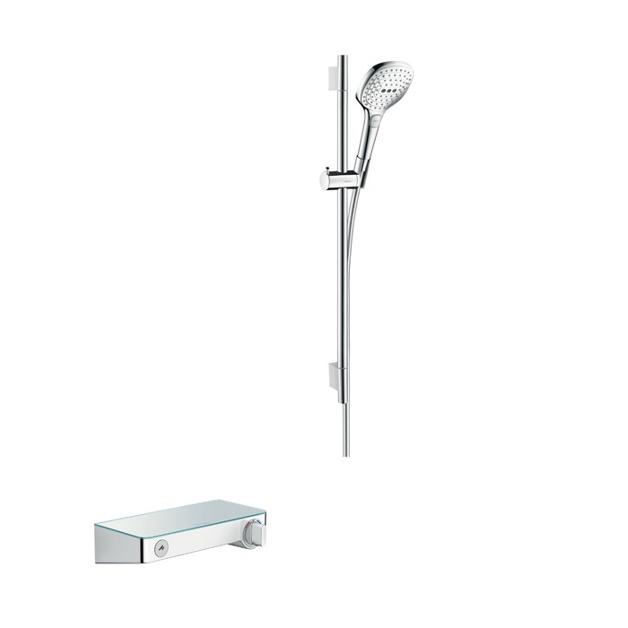 batéria sprch nást termostat ShowerTablet Select 300 + set 0,65 m RAINDANCE Select E 120 3jet chróm