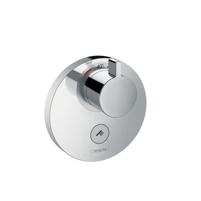 batéria sprch podom termostat ShowerSelect S Highflow pre 1 spotrebič a ďalší výtok chróm