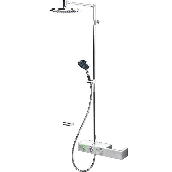 batéria sprch termo ETERNA s integ sprch systémom s hlavovou sprchou chróm