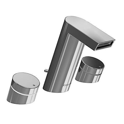batéria umýv stoj STELA 3-otvor chróm