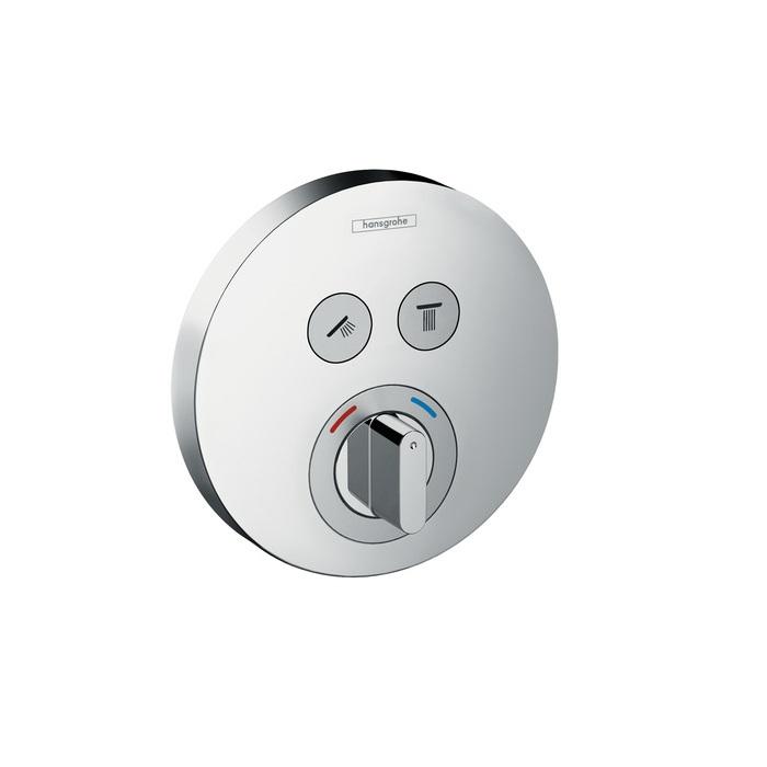 batéria vaňová podom ShowerSelect S pre 2 spotrebiče chróm