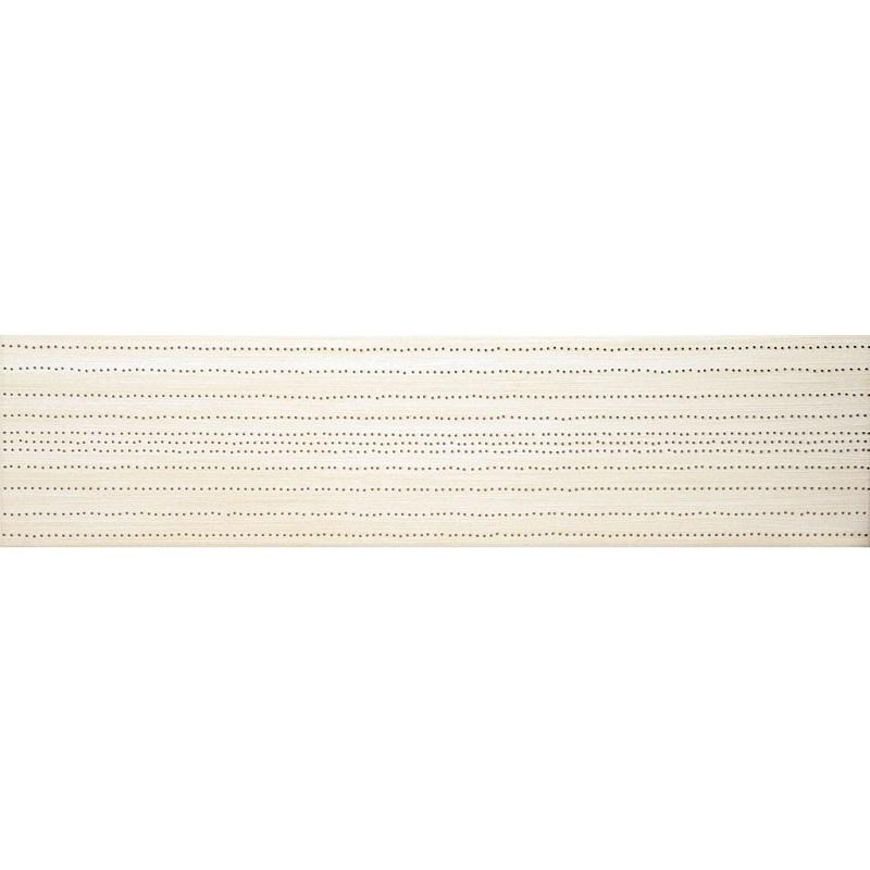 bordúra MELLOW SUMMER 15 x 60 cm matná krémová
