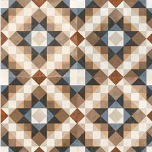 dlažba mozaika FS CHESTER 45 x 45 x 1,05 cm R9 matná viacfarebná