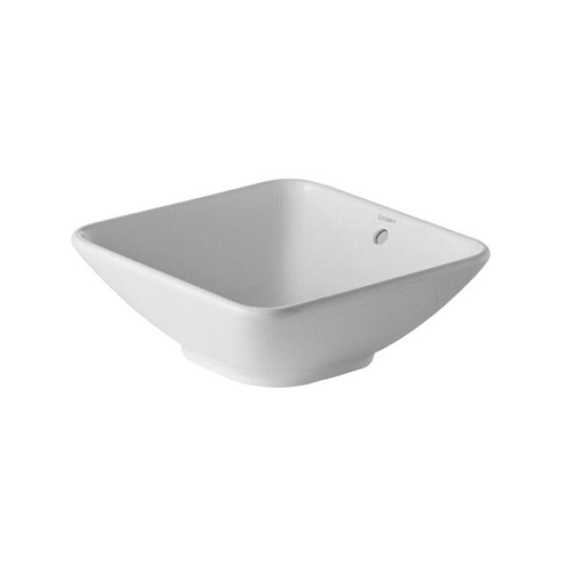 DURAVIT BACINO 42 x 42 cm umývadlo na dosku 0333420000
