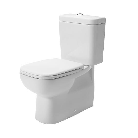 DURAVIT D-CODE kombi WC misa  VARIO odpad,,bez nádrže a sedátka biela, 21180900002