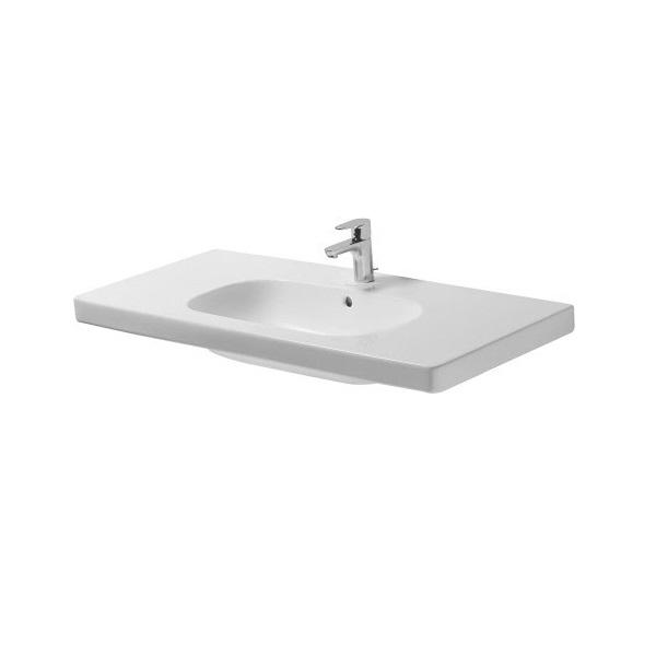 DURAVIT D-CODE nábytkové umývadlo 105x48 cm s otvorom pre batériu biele 03421000002