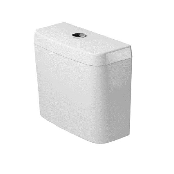 DURAVIT D-CODE nádržka WC kombi 6/3 l napúšťanie spodné vľavo dole, biela  0927100004