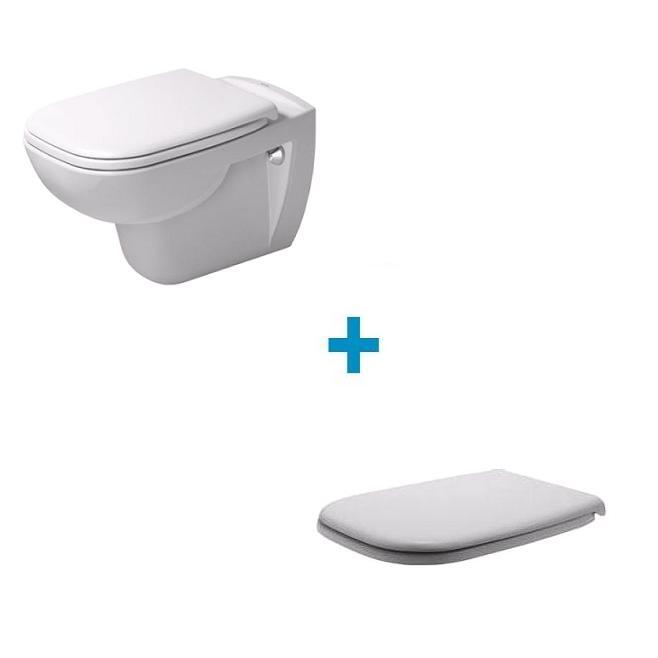DURAVIT D-code set 2v1 misa WC+ sedátko 45351900A1