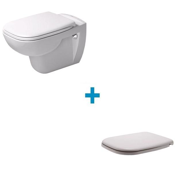 DURAVIT D-code set 2v1 misa WC + sedátko so SoftClose 45350900A1