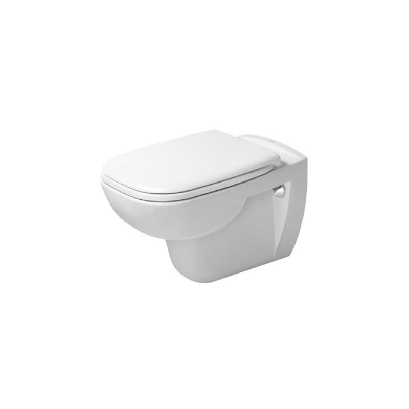 DURAVIT D-CODE SET WC 2v1 398969 s WC misou 25700920002 a sedátkom 0067390000
