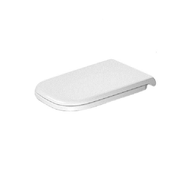 DURAVIT D-CODE Vital WC sedátko so SoftClose, odnímateľné, biele 0060390000