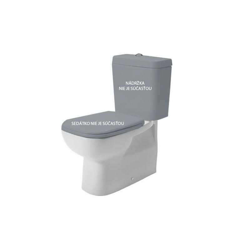 DURAVIT D-Code - WC kombi misa, Vario odpad, s HygieneGlaze, alpská biela 21180920002