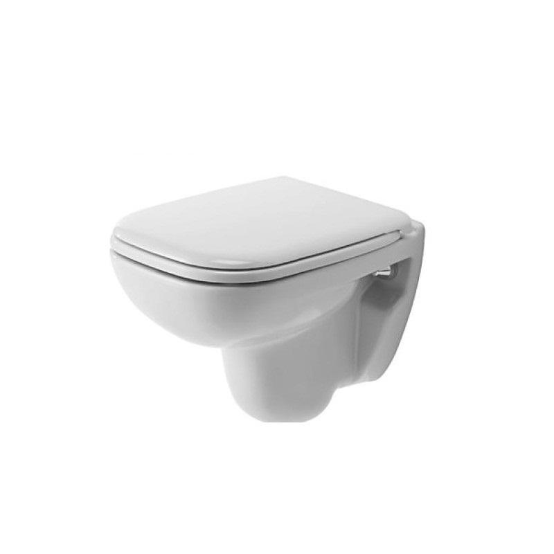 DURAVIT D-CODE WC SET 2v1 s misou Compact 22110900002 a sedátkom bez SoftClose 0067310099