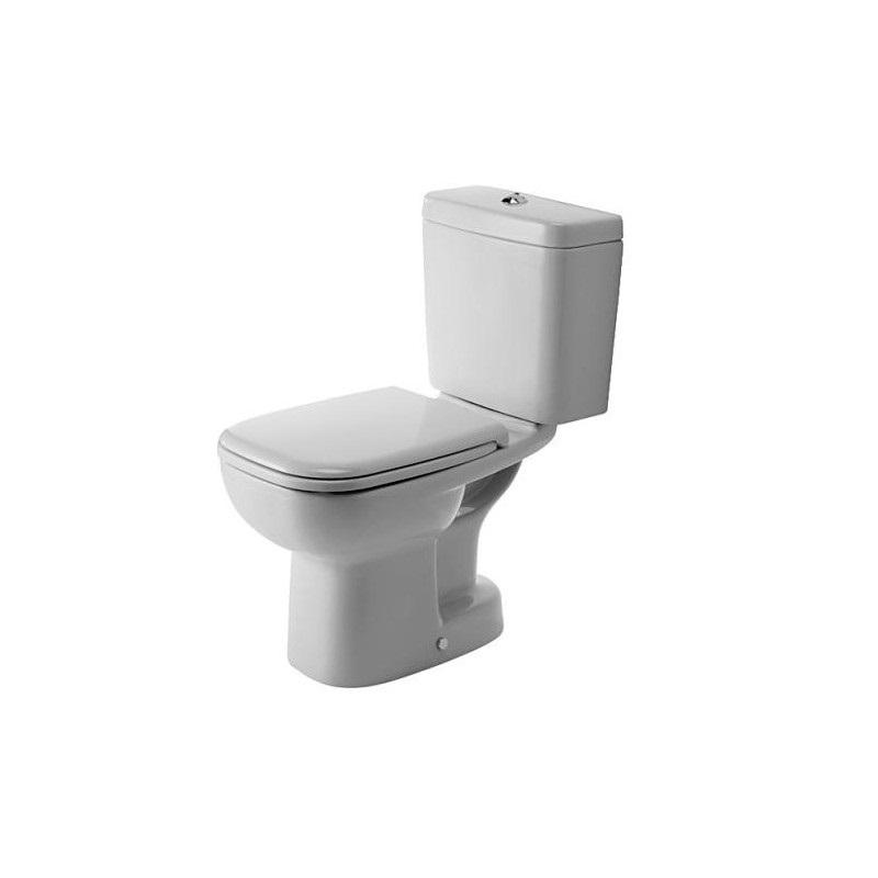 DURAVIT D-Code wc set misa 21110100002 + nádrž + sedátko 0067310000 biele, 325816