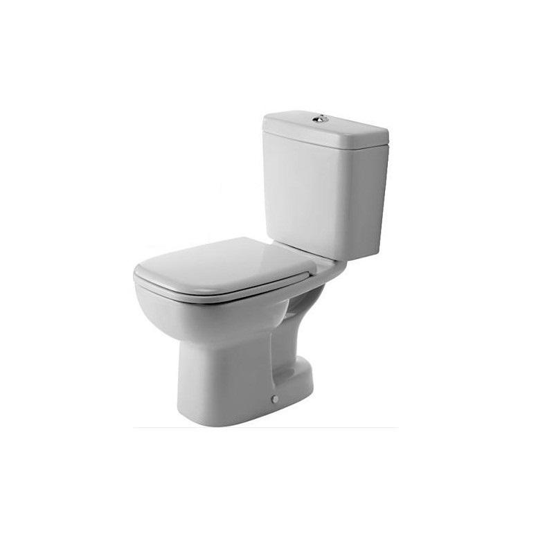 DURAVIT D-Code wc set misa 21110100002 + nádrž + sedátko 0067390000 soft close biele, 325817