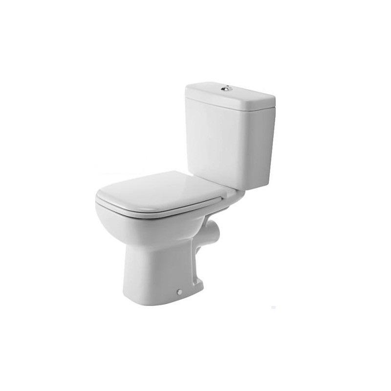 DURAVIT D-Code wc set misa 21110900002 + nádrž + sedátko SoftClose 0067390000 biele, 325819