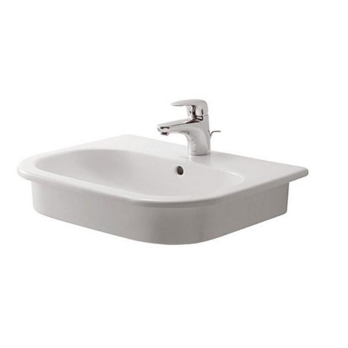 DURAVIT D-CODE zápustné nábytkové umývadlo 54 x 43 cm biele 0337540000