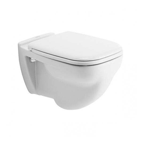DURAVIT D-CODE závesná WC misa, ploché splachovanie, biela 22100900002