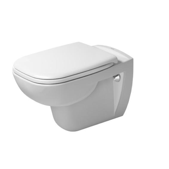 DURAVIT D-Code - Závesné WC, s HygieneGlaze, biela 25350920002