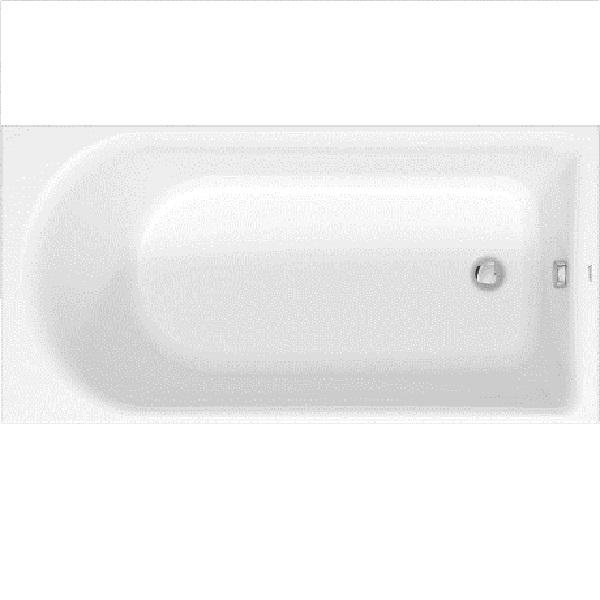 Duravit D-NEO akrylátová vaňa 150 x 75 cm biela, odpad pri nohách 700471000000000