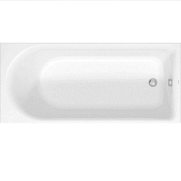 Duravit D-NEO akrylátová vaňa 180 x 80 cm biela, odpad pri nohách 700475000000000