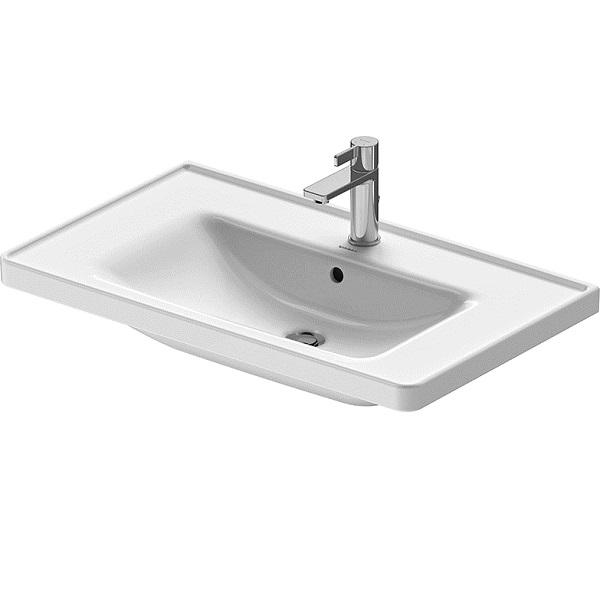 Duravit D-NEO nábytkové umývadlo 80 x 48 cm s prepadom, biele 2367800000