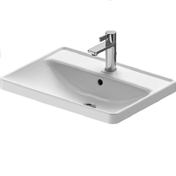 Duravit D-NEO nábytkové zápustné umývadlo 60 x 43,5 cm biele 0357600027