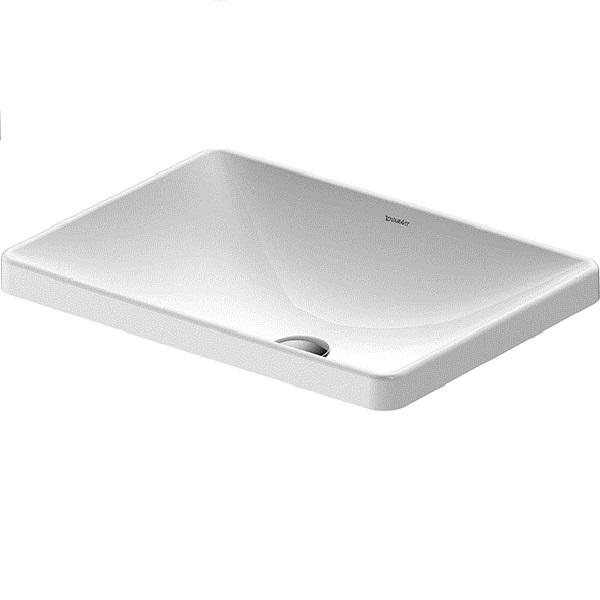 Duravit D-NEO nábytkové zápustné umývadlo 60 x 43,5 cm biele 0358600079