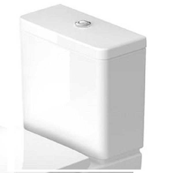 Duravit D-NEO splachovacia nádržka 6/3 l ku kombi WC mise, pripojenie vľavo alebo vpravo, biela 0944000005