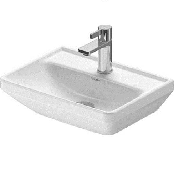 Duravit D-NEO umývadlo 45 x 33,5 cm bez prepadu, biele 0738450041