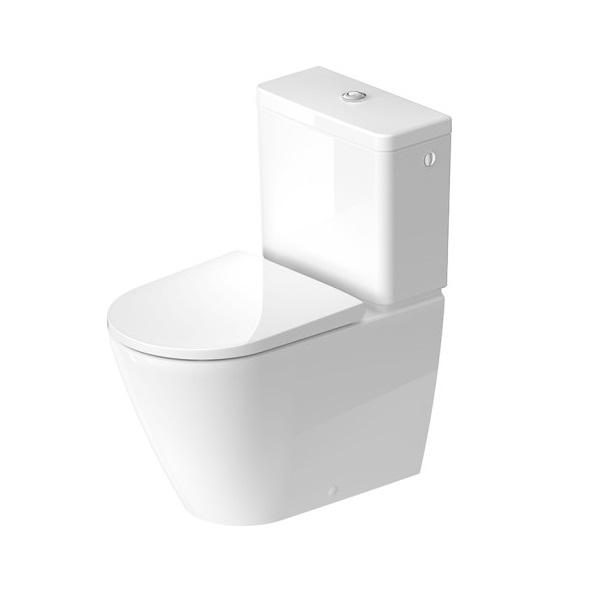 Duravit D-NEO WC set misa Rimless 2002090000 + nádrž + sedátko 0021610000 biela 399450