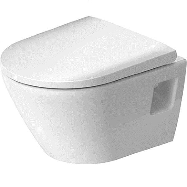 Duravit D-NEO závesná WC misa 37 x 48 cm Rimless, skrátená Compact, biela 2587090000