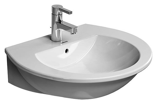 DURAVIT Darling New 65 x 54 cm umývadlo 2621650000