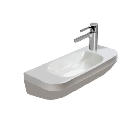DURAVIT DURA STYLE 50 x 22 cm umývadlo s otvorom vpravo 07135000008