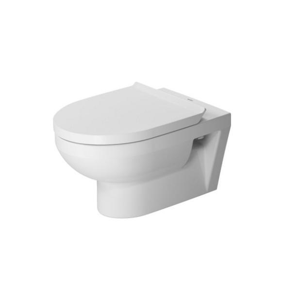 DURAVIT Dura Style Basic set závesná WC misa Rimless so sedátkom SoftClose biela 45620900A1