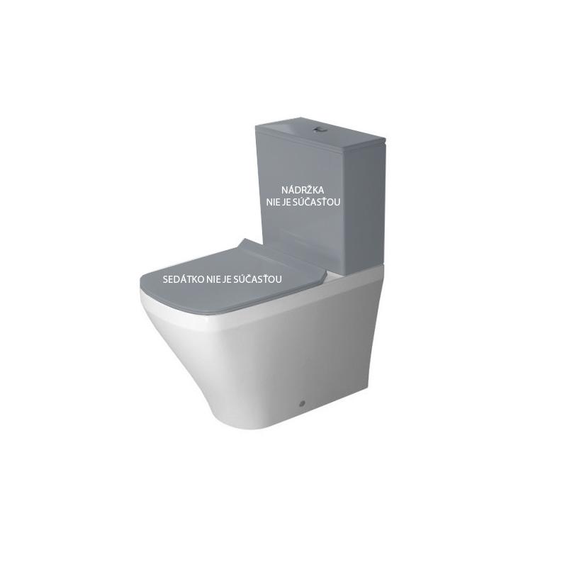 DURAVIT Dura Style misa WC kombi stojaca 37 x 63 cm biela, hlboké splachovanie, variabilný odpad, biela 2155090000