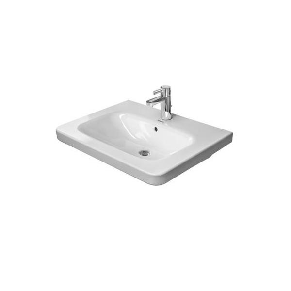 DURAVIT Dura Style nábytkové umývadlo 100 x 48 cm s prepadom, biele s úpravou WonderGliss 23201000001
