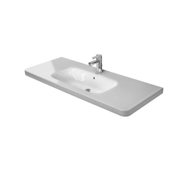 DURAVIT Dura Style nábytkové umývadlo 120 x 48 cm s prepadom, biele 2320120000