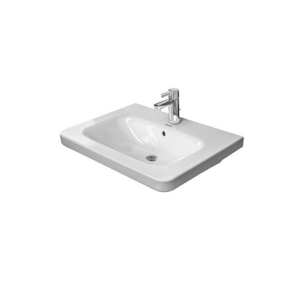 DURAVIT Dura Style nábytkové umývadlo 80 x 48 cm biele s úpravou Wonder Gliss 23208000001