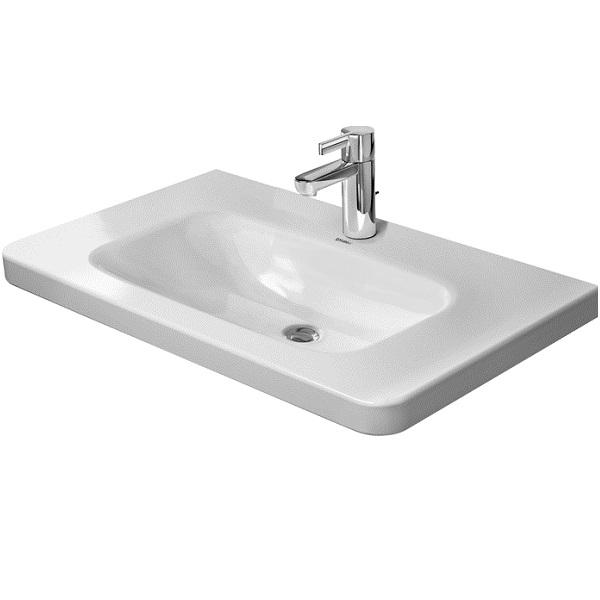 DURAVIT Dura Style nábytkové umývadlo 80 x 48 cm biele s úpravou Wonder Gliss 23208000411