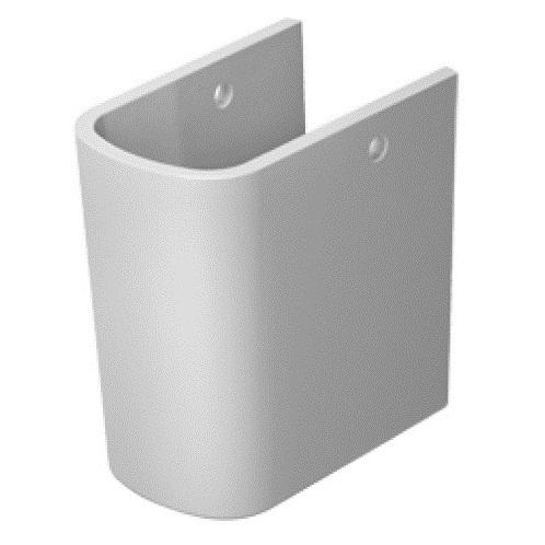 DURAVIT Dura Style polostĺp - kryt sifónu - biely 0858300000
