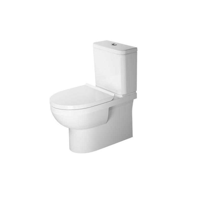 DURAVIT Dura Style SET 3v1 WC kombi misa Rimless Hygiene Glaze ( 2182092000) so sedátkom SoftClose 002079000 a splachovacou nádržkou, 398985