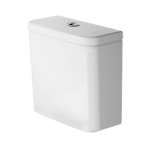 DURAVIT Dura Style splachovacia nádržka k WC kombi 39 x 17 cm biela 0941000005