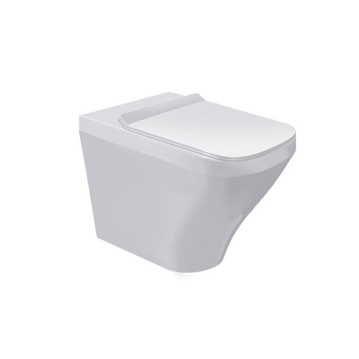 DURAVIT Dura Style stojaca WC misa 37 x 57 cm biela s úpravou WonderGliss 21500900001