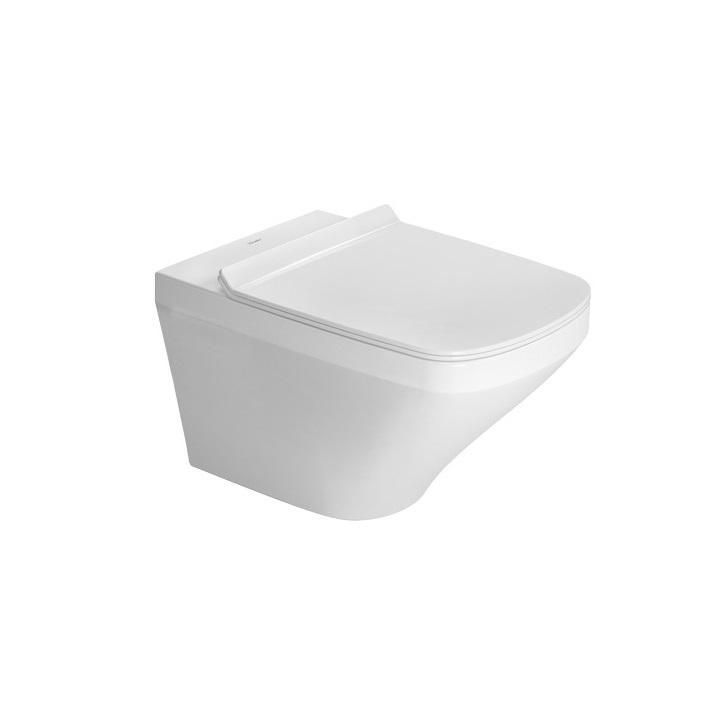 DURAVIT Dura Style závesná WC misa 37 x 54 cm s upevnením Durafix, biela s glazúrou Hygiene Glaze 2552092000