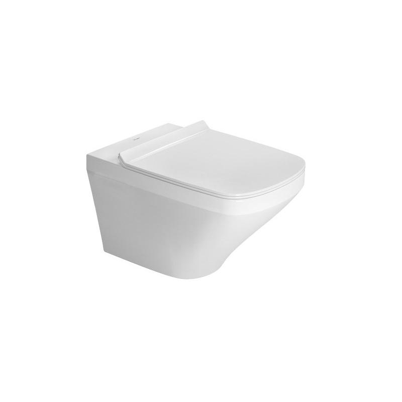 DURAVIT Dura Style závesná WC misa 37 x 54 cm, upevnenie Durafix, biela s úpravou Wonder Gliss 25520900001