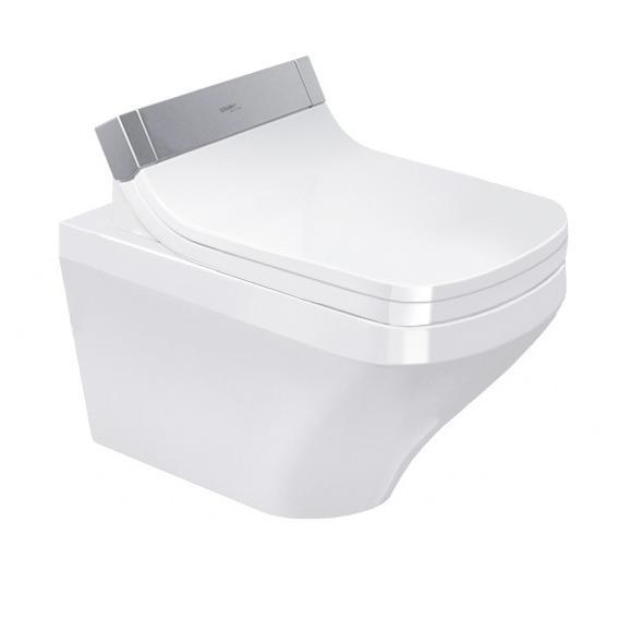 DURAVIT Dura Style závesná WC misa 37 x 62 cm Rimless pre SensoWash s upevnením Durafix, biela Hygiene Glaze 2542592000