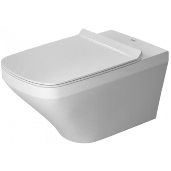 DURAVIT Dura Style závesná WC misa 37 x 62 cm Rimless, upevnenie Durafix, biela 2542090000