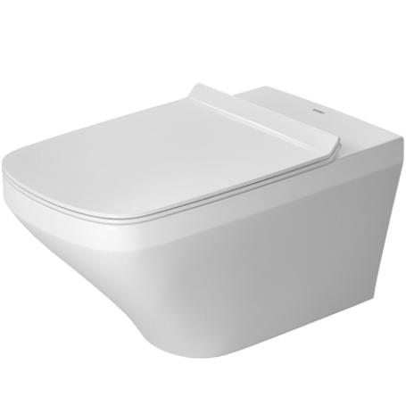 DURAVIT Dura Style závesná WC misa 37 x 62 cm s upevnením DURAFIX, biela 2537090000
